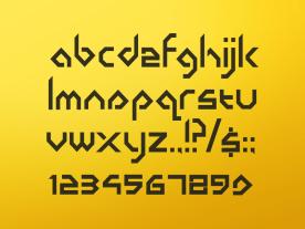 Basement Books Typeface