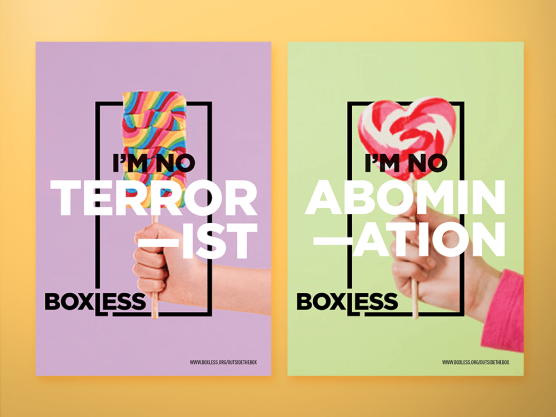Boxless Posters