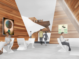 Outré Gallery Café Internal